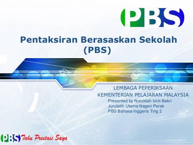 Overview pbs penataran tinpbsgkatan utk pel