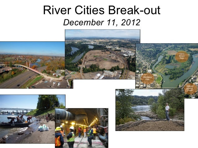 Overview river cities break out