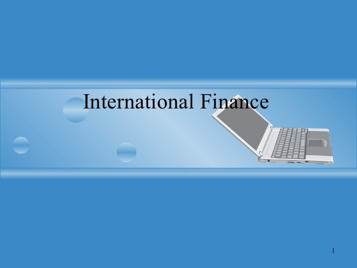 Over wive international finance