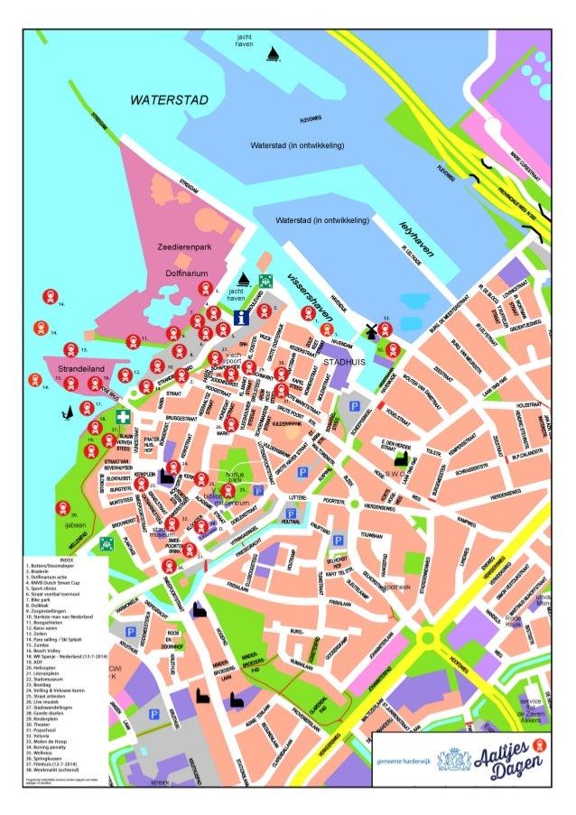 Overzicht activiteiten/programma Aaltjesdagen Harderwijk