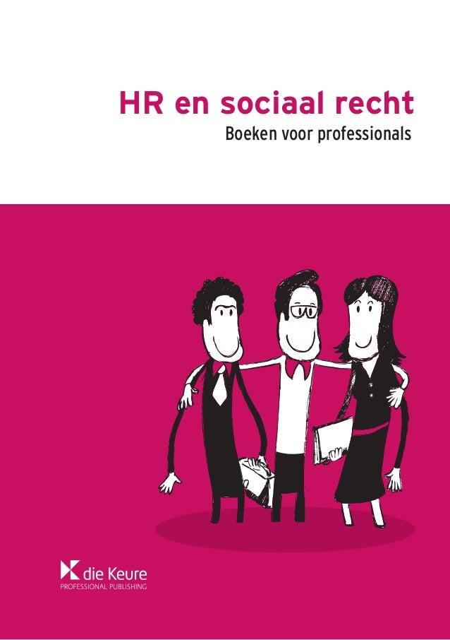 HR en sociaal recht Boeken voor professionals