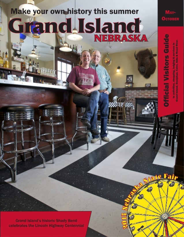 Grand Island Visitors Guide, May-Nov 2013