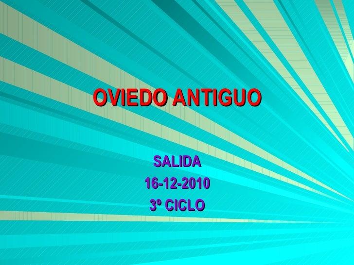 Oviedo antiguo