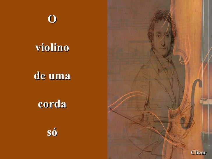 O Violino De Uma Corda Só   Juliana Ramires