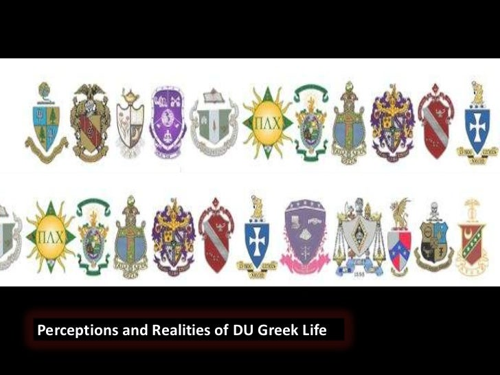 Perceptions and Realities of DU Greek Life