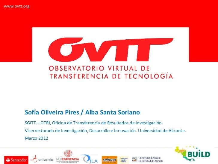 Presentación del OVTT al proyecto europeo BUILD