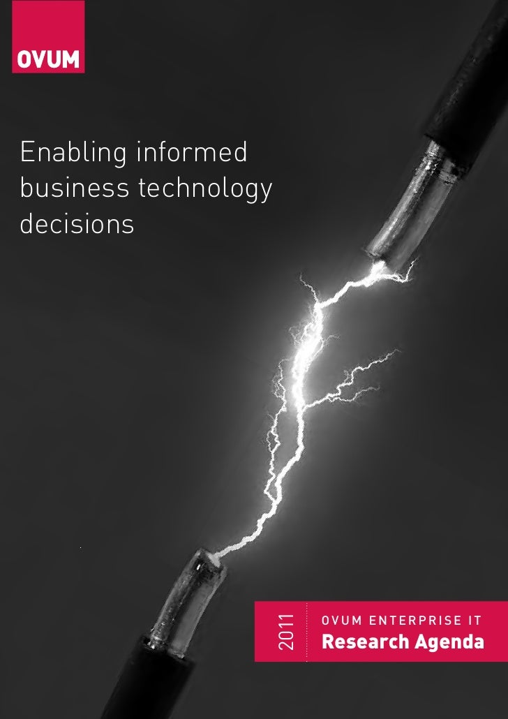 Part of the Datamonitor Group     Enabling informed business technology decisions                    2011                 ...