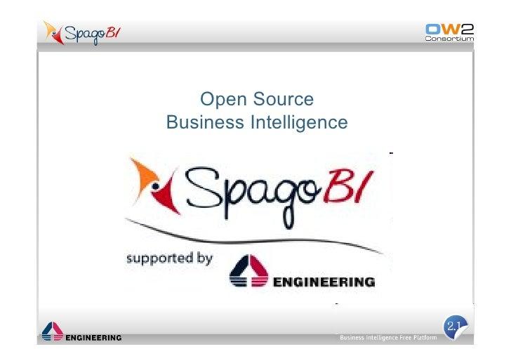 Ow2 SpagoBI Linuxtag09