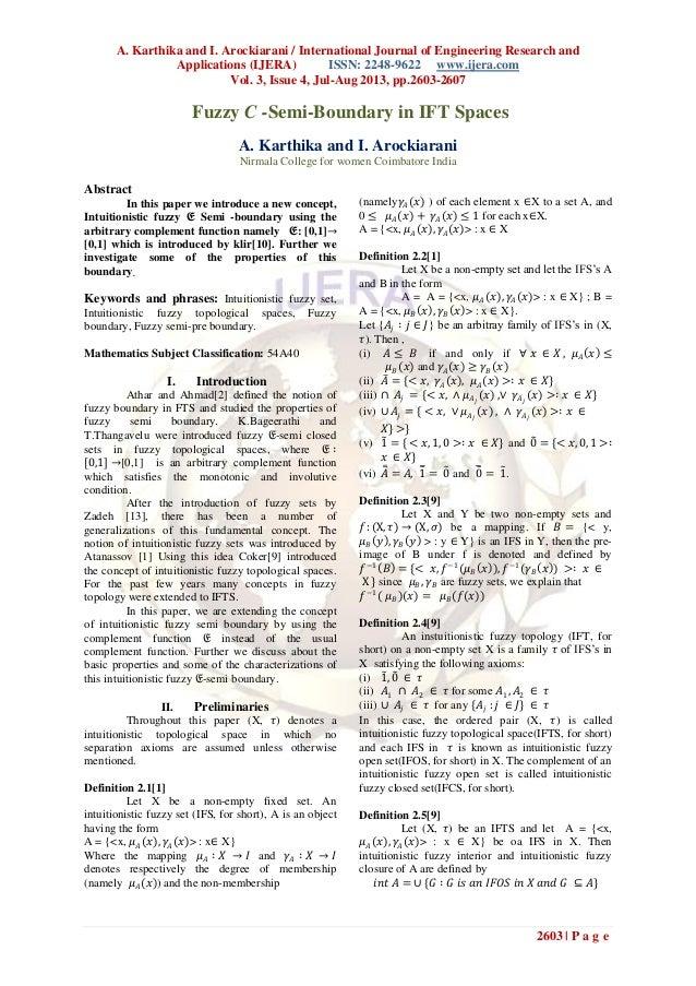 A. Karthika and I. Arockiarani / International Journal of Engineering Research and Applications (IJERA) ISSN: 2248-9622 ww...
