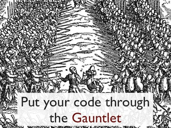 Gauntlet Kickoff at Austin OWASP Hackathon
