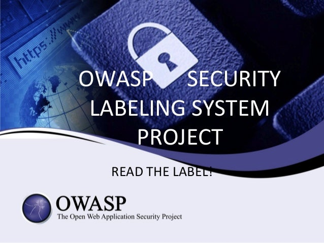 Owasp_Security_Labeling_System