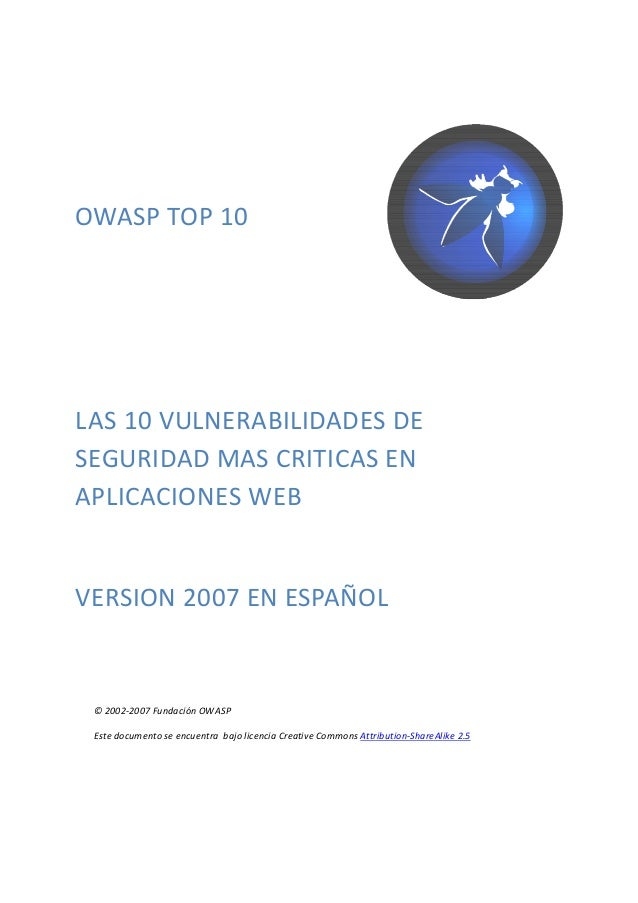 Owasp top 10_2007_spanish