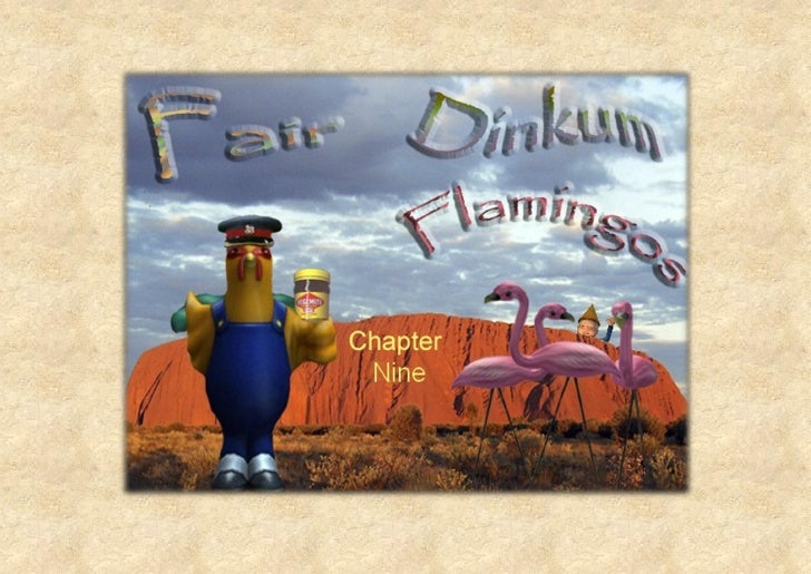 Fair Dinkum Flamingos Chapter 9