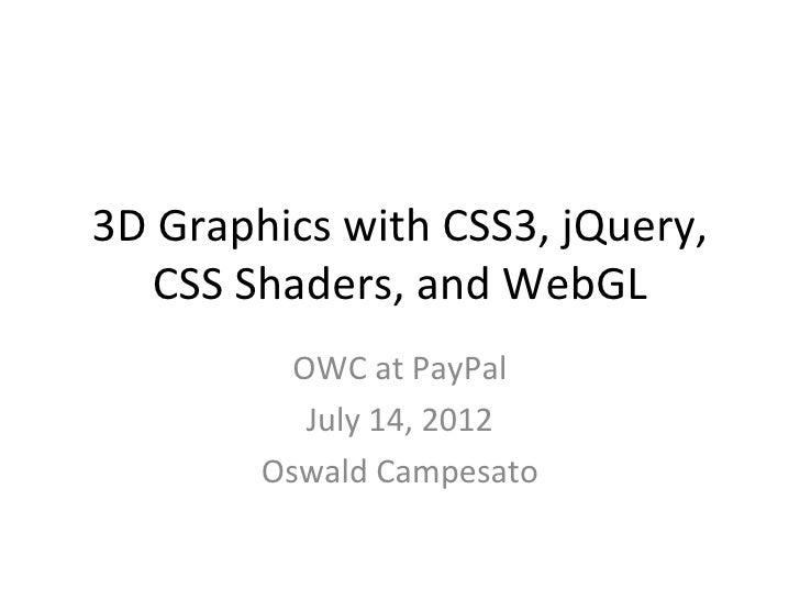 OWC 2012 (Open Web Camp)