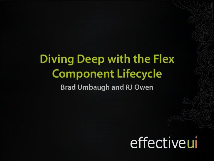 Adobe Flex Component Lifecycle