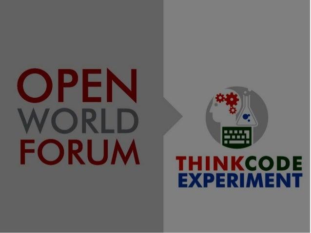 OWF13 - Open World Forum - Keynote Microsoft Suse final (faatz)