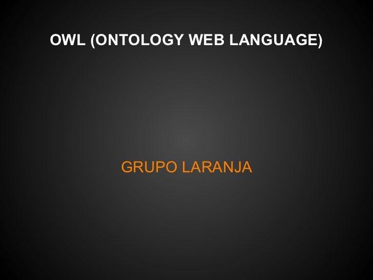 OWL - Grupo Laranja - ASS