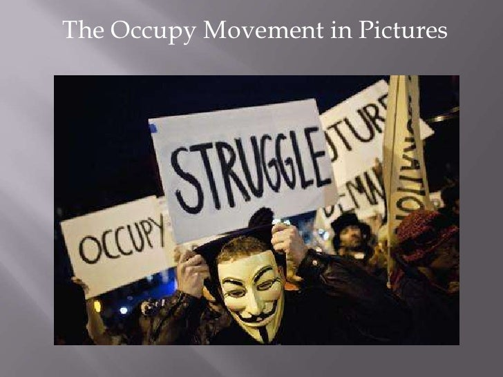 The Occupy Movement in Pictures