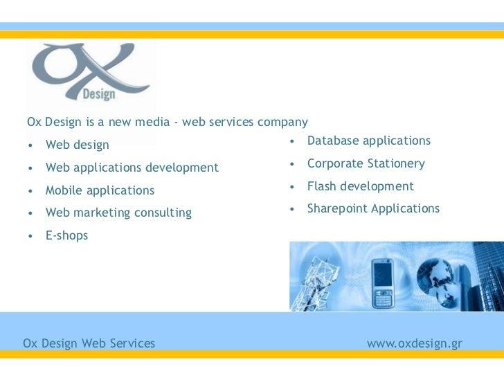 Ox Design November 2011 presentation