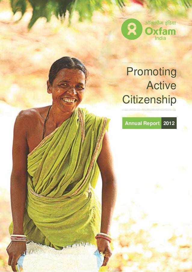 Oxfam India Annual Report 2012