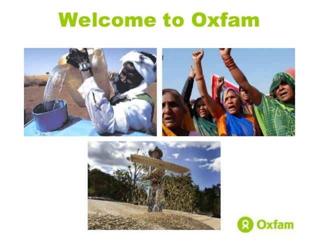 Welcome to Oxfam