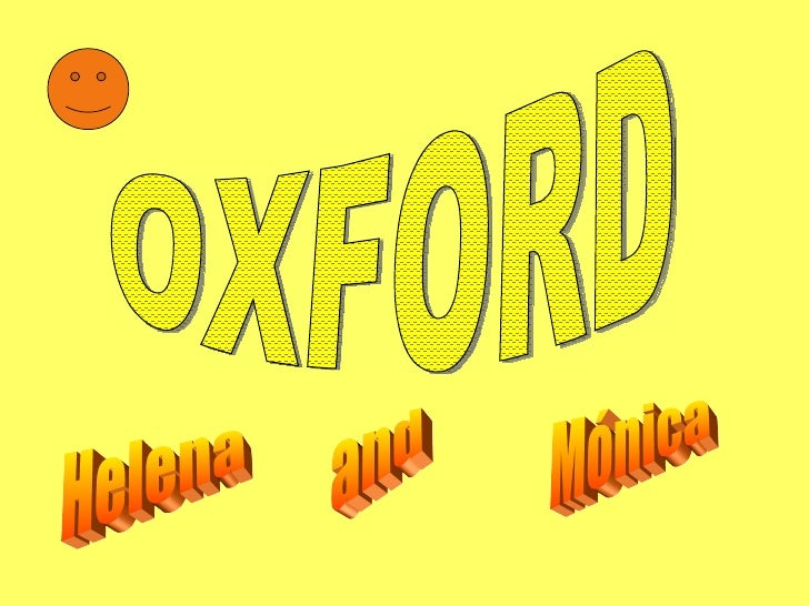 Oxford project