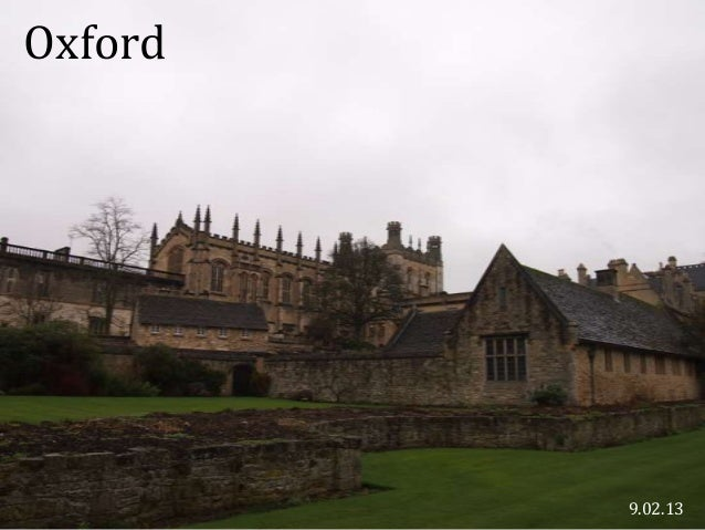 Oxford         9.02.13
