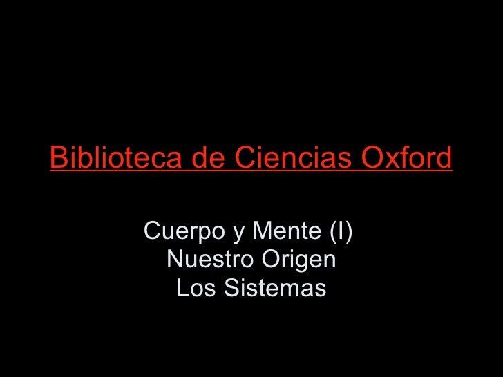 Conocer Ciencia - Cuerpo Humano 1 (Evolución - Sistemas)