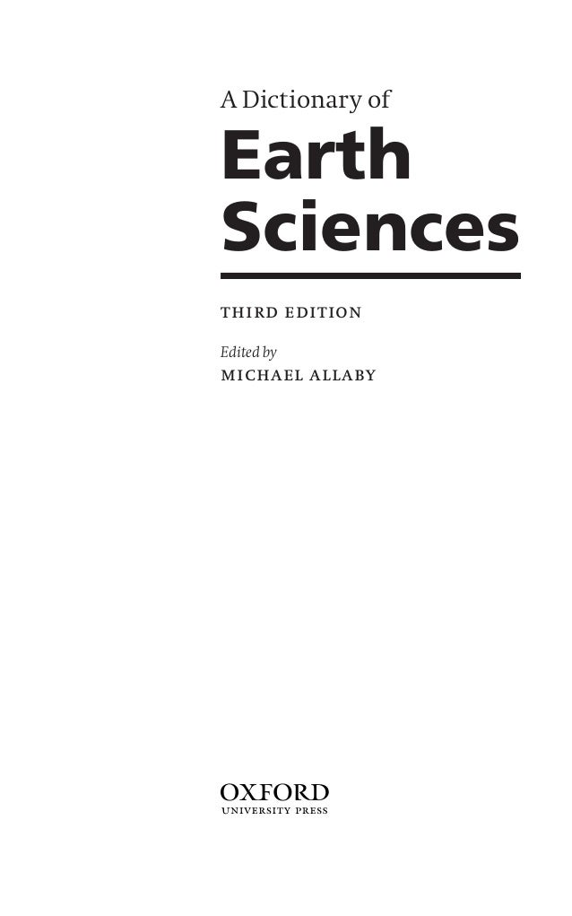 oxford dictionary of science pdf
