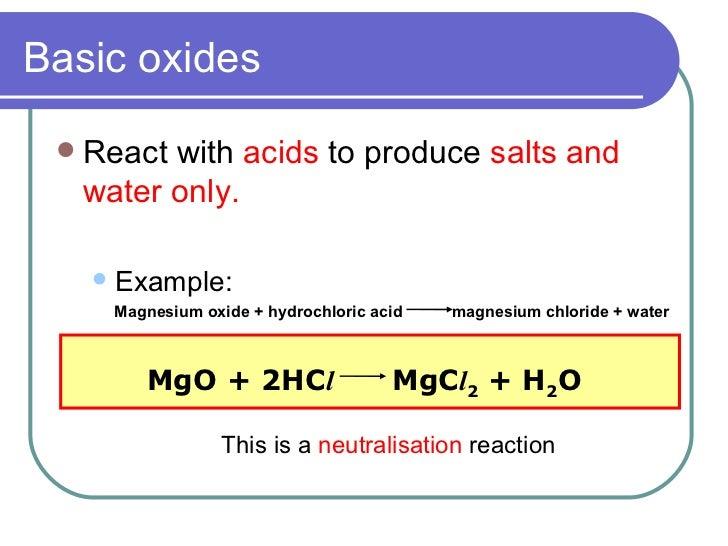 Carbonic >> Oxides