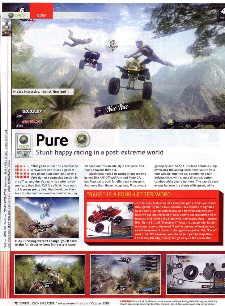 Game Pure da Disney recebe maior pontuação da Xbox