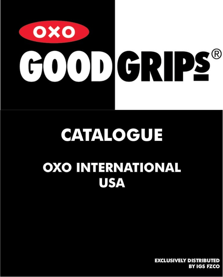 CATALOGUEOXO INTERNATIONAL       USA             EXCLUSIVELY DISTRIBUTED                         BY IGS FZCO