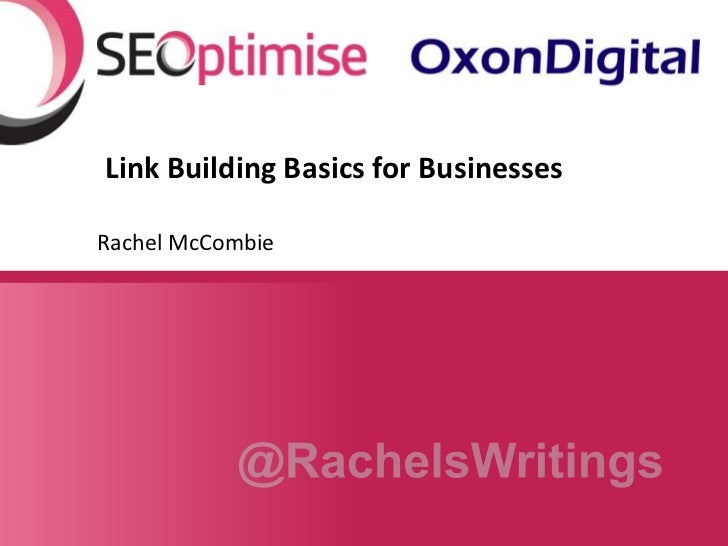 Link Building Basics for Businesses