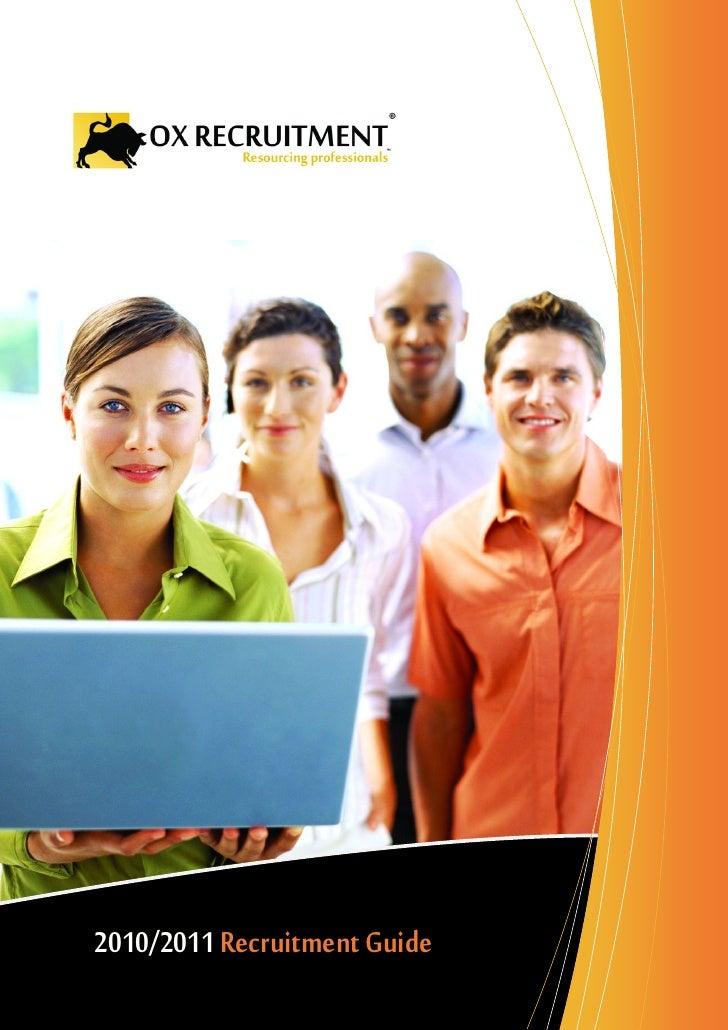Ox recruitment company profile