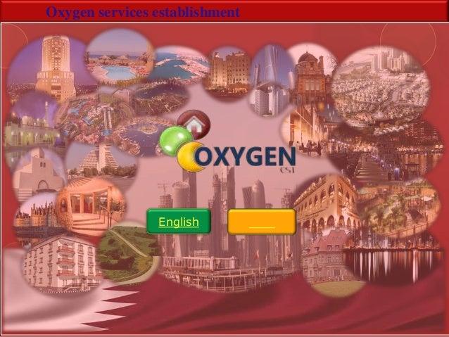 Oxygen services establishmentEnglish