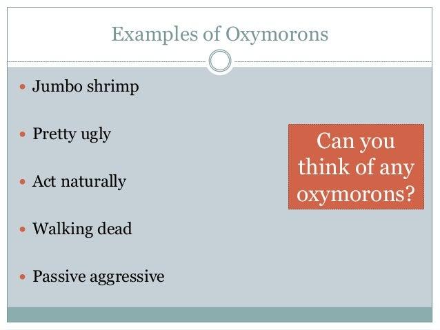 literary term for jumbo shrimp
