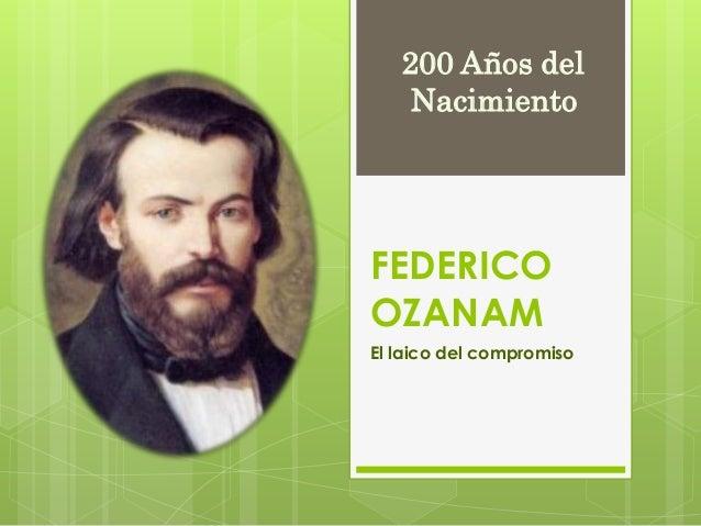 Federico Ozanam: El laico del compromiso