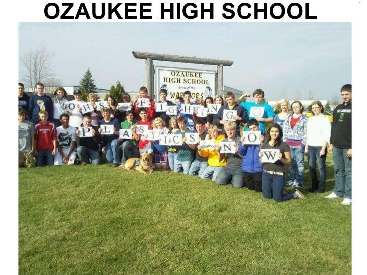 Ozaukee high school students reducing plastic consumption