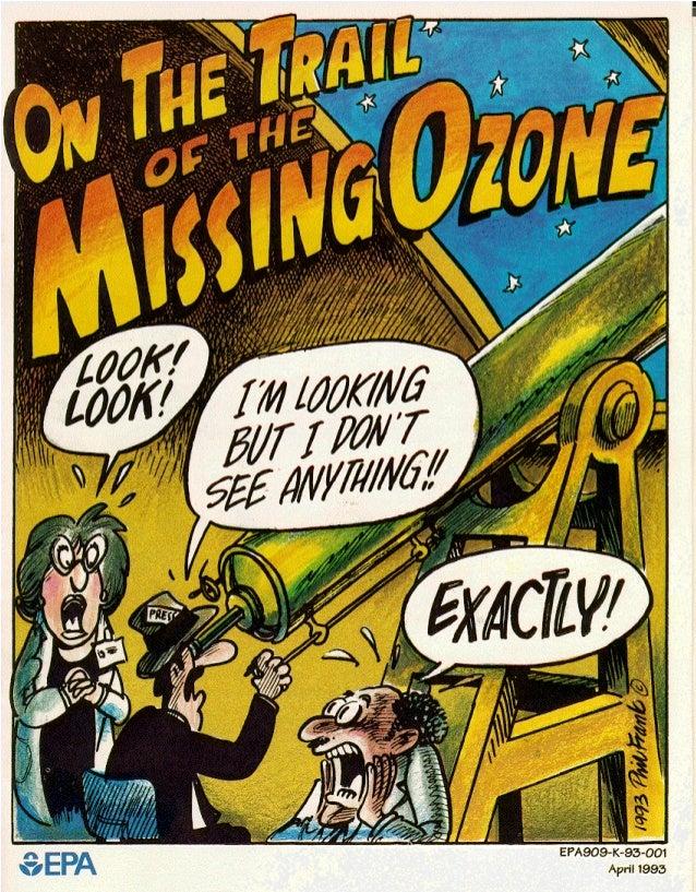 Ozone depletion comic by EPA