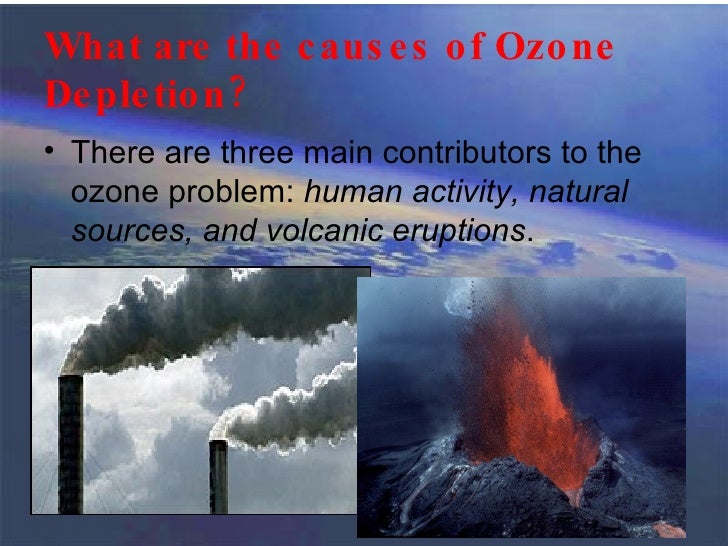 Comprehending the Various Causes of Ozone Depletion