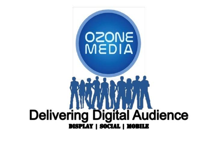Ozone mobile media