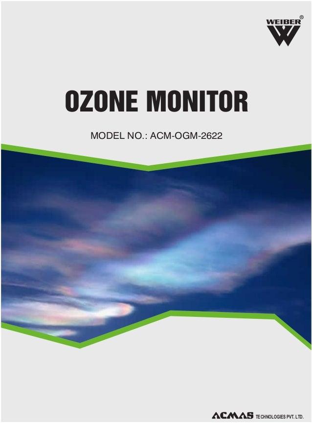 Ozone Monitor by ACMAS Technologies Pvt Ltd.