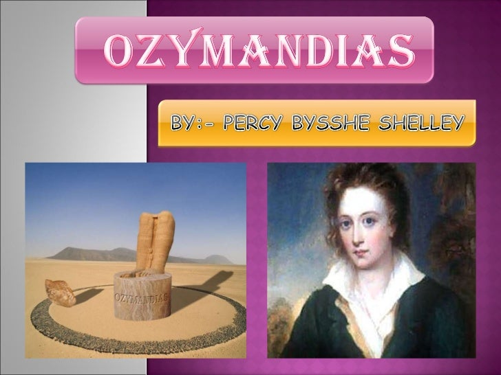 ozymandias poetry analysis