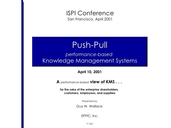 Push Pull KMS - Knowledge Management Systems