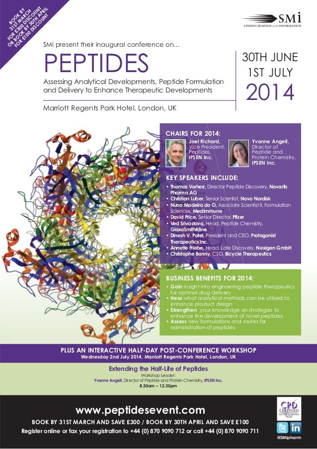 SMi Group's Inaugural Peptides conference