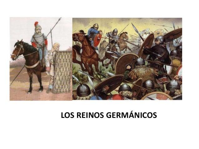 LOS REINOS GERMÁNICOS