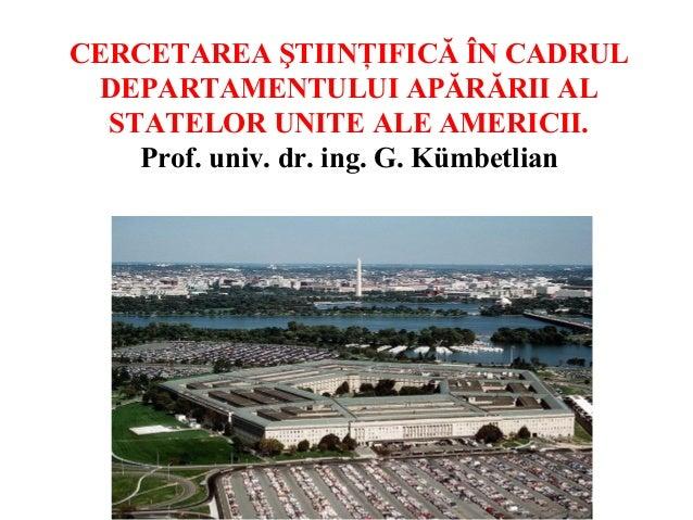 P.12,cercetarea +ƒtiin+úific â +«n cadrul do d of usa