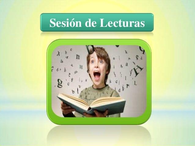 Sesión de Lecturas