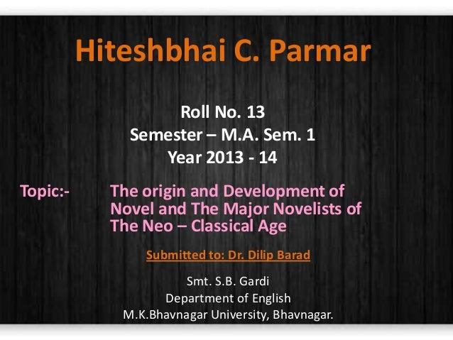 Paper   2 - Development of novel and novelist
