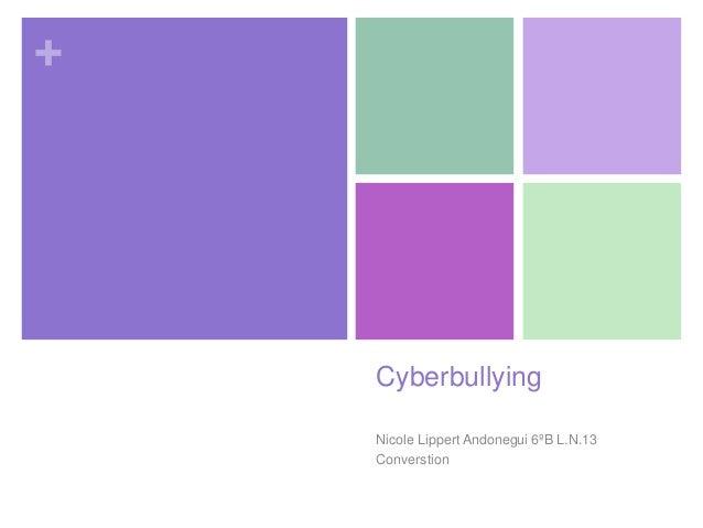 cyberbullying/social networks conversation